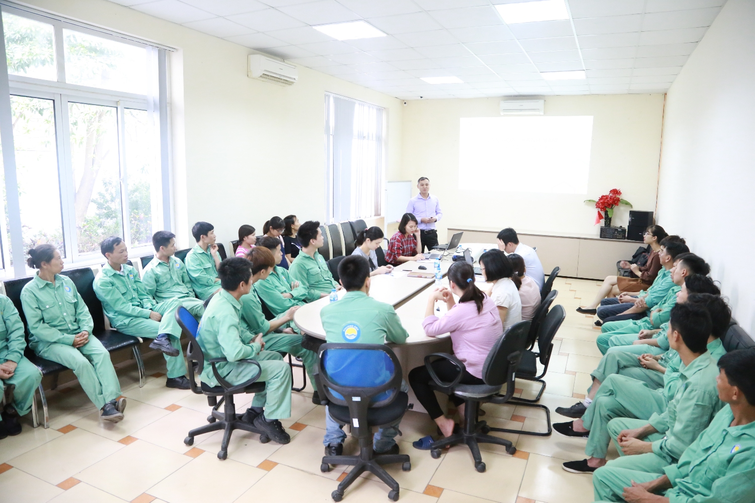 Phuong Anh Group develops training to build corporate culture